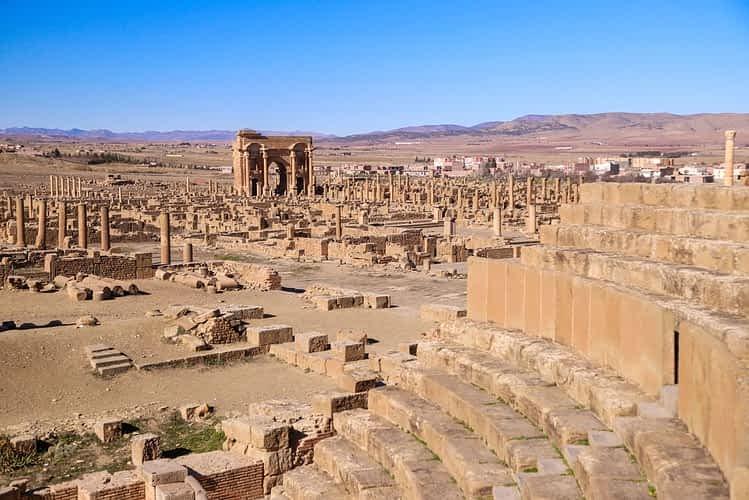 Тимгад, Алжир