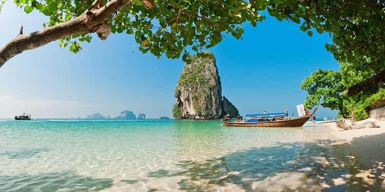 Плаж, острови Краби, Тайланд