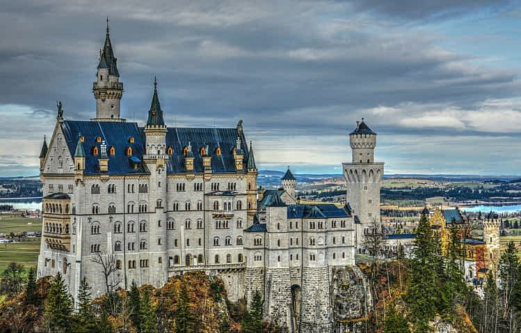 Замък Нойшванщайн, Германия