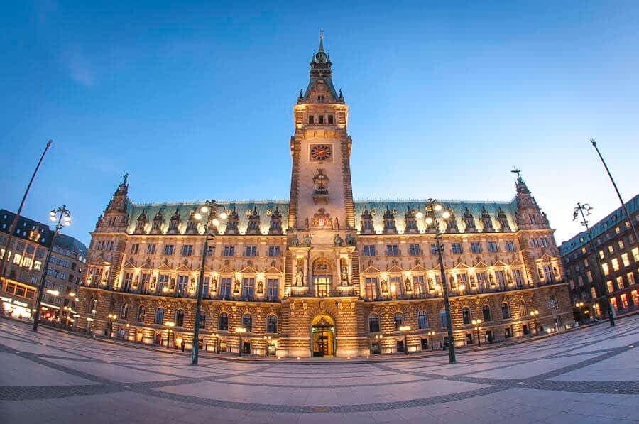 Кметството в Хамбург
