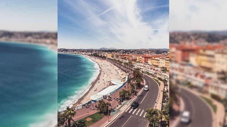Променад де Англез (Promenade des Anglais)