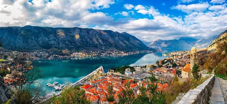 Которски залив, Черна гора