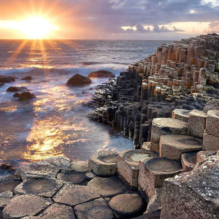 Пътят на Великаните, Ирландия