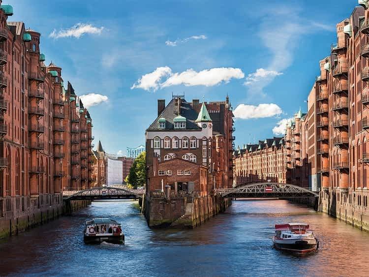 "Speicherstadt- ""град на складове"" Хамбург"